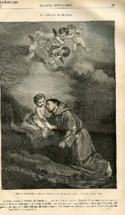LE MAGASIN PITTORESQUE - Livraison n°051 - Un tableau de Murillo.