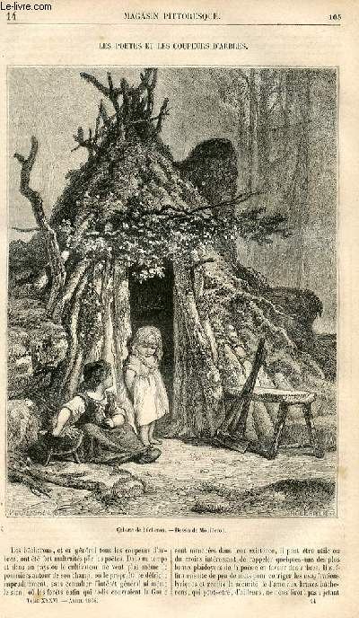 LE MAGASIN PITTORESQUE - Livraison n°014 - Les poètes et les coupeurs d'arbres.