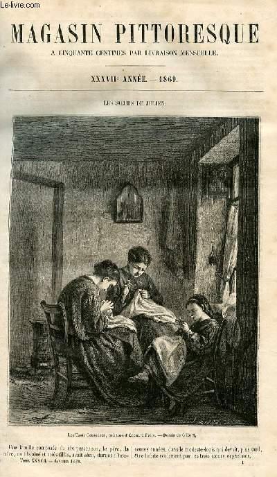 LE MAGASIN PITTORESQUE - Livraison n°001  - Les soeurs de Julien.