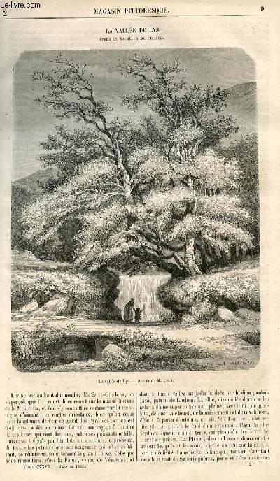 LE MAGASIN PITTORESQUE - Livraison n°002 - La vallée de Lys (Bagnères de Luchon).