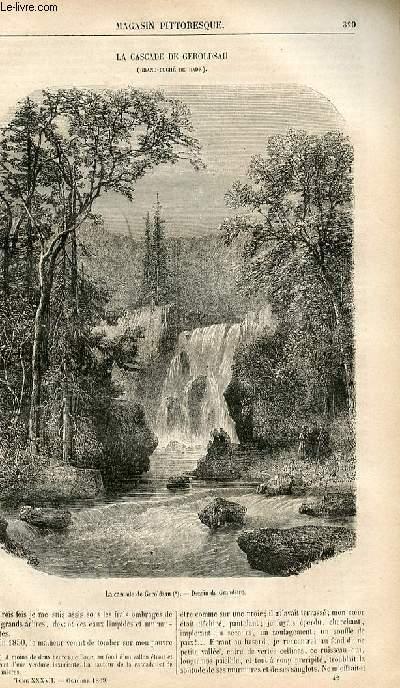 LE MAGASIN PITTORESQUE - Livraison n°042 - La cascade de Geroldsau (Grand Duché de Bâde).