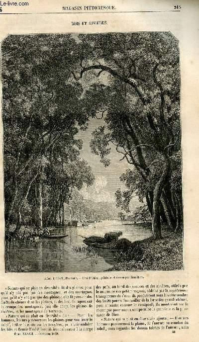 LE MAGASIN PITTORESQUE - Livraison n°044 - Bois et rivières.