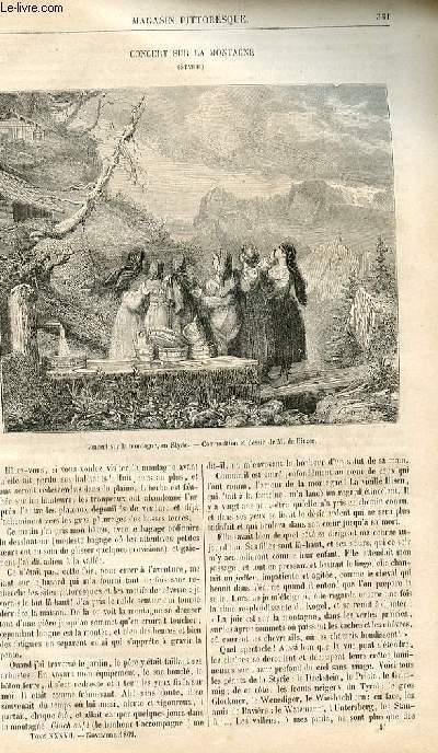 LE MAGASIN PITTORESQUE - Livraison n°046 - Concert sur la montagne (Styrie).