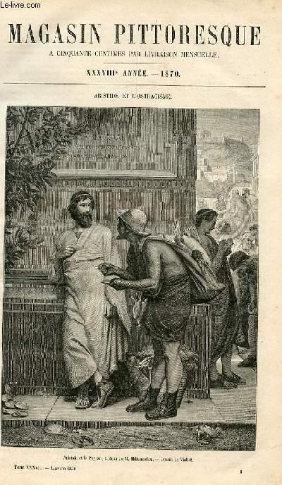 LE MAGASIN PITTORESQUE - Livraison n°001 - Aristide et l'ostracisme.