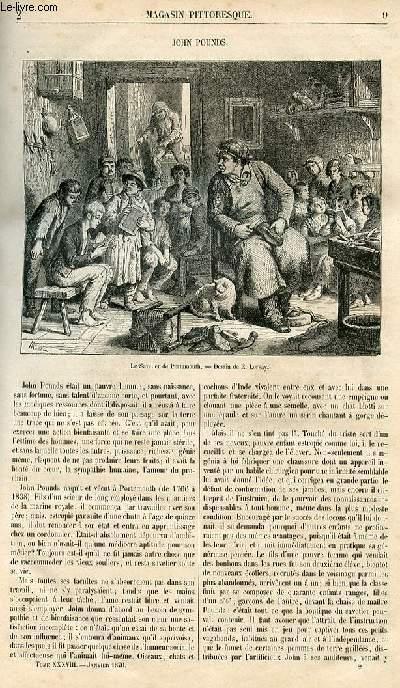 LE MAGASIN PITTORESQUE - Livraison n°002 - John Pounds.