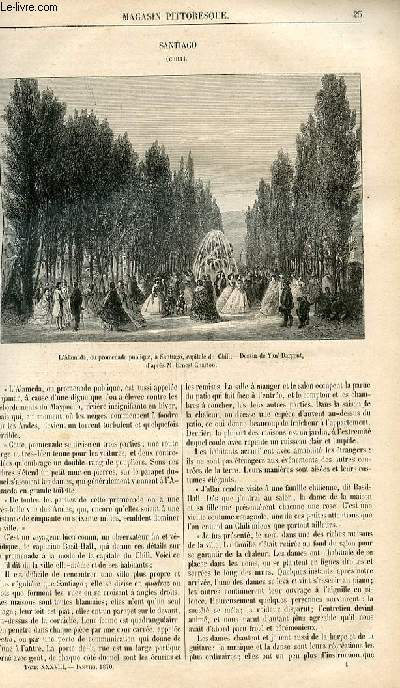 LE MAGASIN PITTORESQUE - Livraison n°004 - Santiago (Chili).