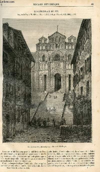 LE MAGASIN PITTORESQUE - Livraison n°006 - La cathédrâle du puy.