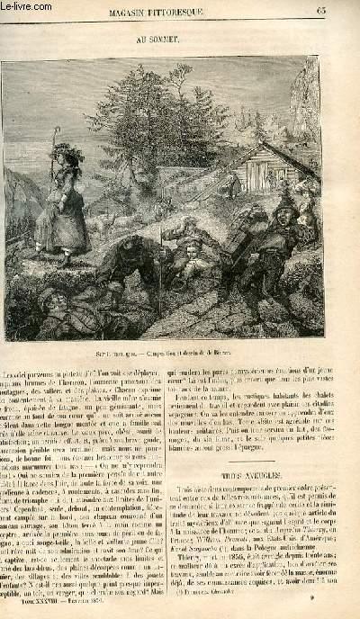 LE MAGASIN PITTORESQUE - Livraison n°009 - Au sommet.