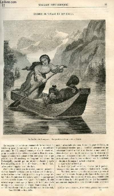 LE MAGASIN PITTORESQUE - Livraison n°012 - Episode de voyage en Bavière.