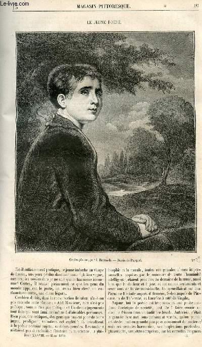 LE MAGASIN PITTORESQUE - Livraison n°013 - Le jeune poète.