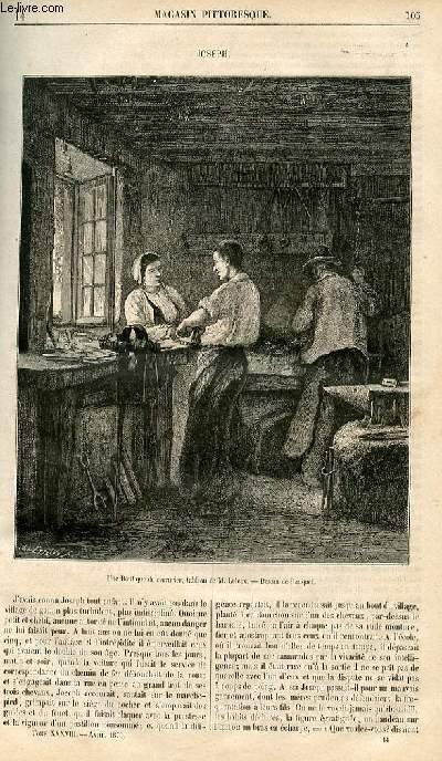 LE MAGASIN PITTORESQUE - Livraison n°014 - Joseph.