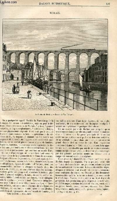 LE MAGASIN PITTORESQUE - Livraison n°018 - Morlaix.