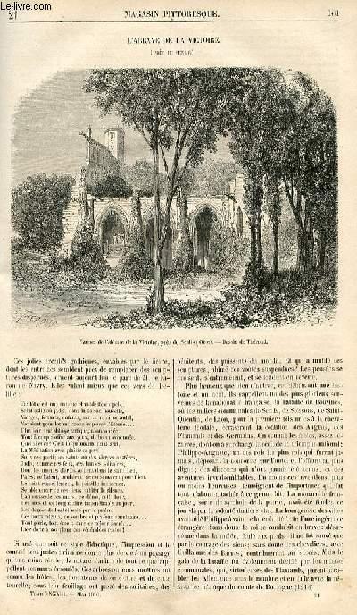 LE MAGASIN PITTORESQUE - Livraison n°021 - L'abbaye de la Victoire près de Senlis.