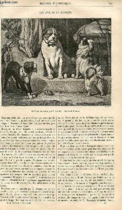 LE MAGASIN PITTORESQUE - Livraison n°022 - Les amis de la richesse.