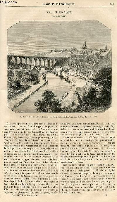 LE MAGASIN PITTORESQUE - Livraison n°031 - Dinan et son viaduc.