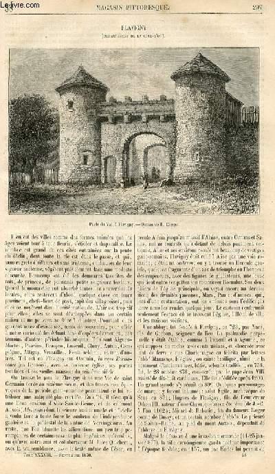LE MAGASIN PITTORESQUE - Livraison n°038 - Flavigny (Côte d'Or).