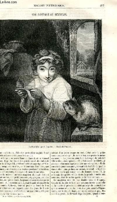 LE MAGASIN PITTORESQUE - Livraison n°048 - Une fantaisie de Reynolds.