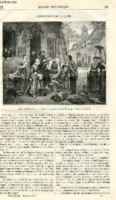 LE MAGASIN PITTORESQUE - Livraison n°052 - Comment on paye la carte.