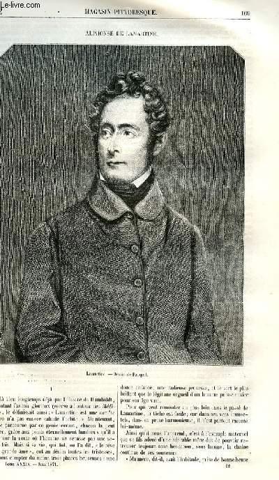 LE MAGASIN PITTORESQUE - Livraison n°22 - Alphonse de Lamartine (numéro spécial).