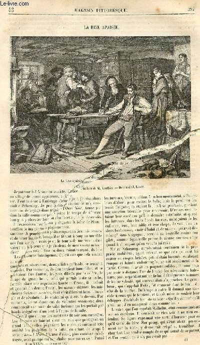 LE MAGASIN PITTORESQUE - Livraison n°43 - La rixe apaisée.