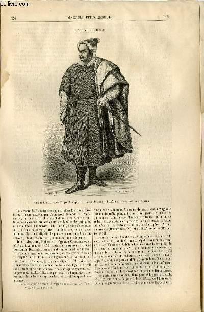 LE MAGASIN PITTORESQUE - Livraison n°24 - Les Barberousse.