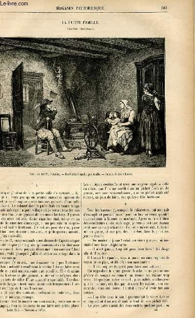 LE MAGASIN PITTORESQUE - Livraison n°46 - La petite famille - Yvonne Troennec.