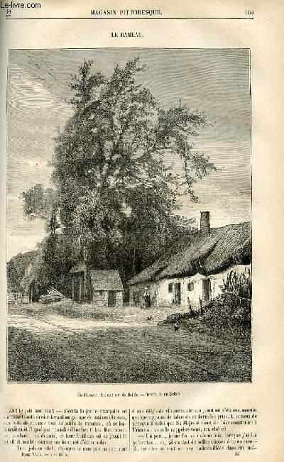LE MAGASIN PITTORESQUE - Livraison n°22 - Le hameau.