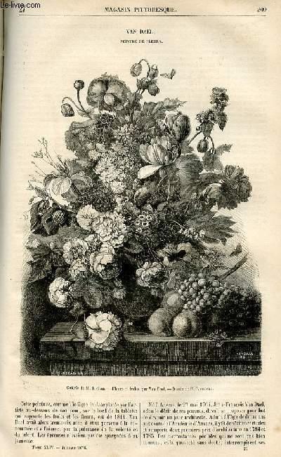 LE MAGASIN PITTORESQUE - Livraison n°27 - Van Dael , peintre de fleurs.