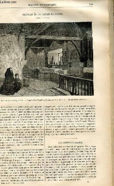 LE MAGASIN PITTORESQUE - Livraison n°44 - Chapelle de la Trinité En Plouha (Côtes du Nord).