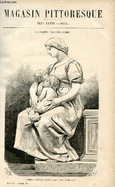 LE MAGASIN PITTORESQUE - Livraison n°01 - La Charité par Paul Dubois.