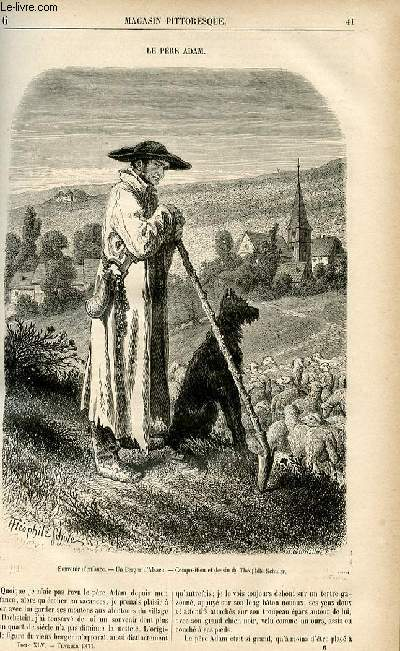 LE MAGASIN PITTORESQUE - Livraison n°06 - Le père Adam.
