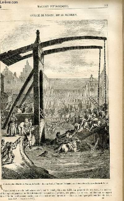 LE MAGASIN PITTORESQUE - Livraison n°36 - Maurice de Nassau dit le Brésilien.