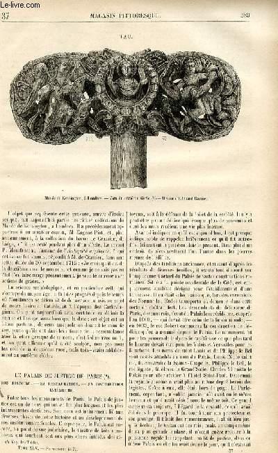 LE MAGASIN PITTORESQUE - Livraison n°37 - Tau.
