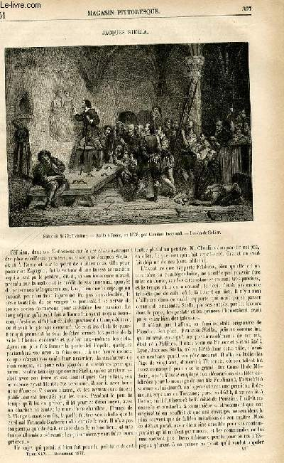 LE MAGASIN PITTORESQUE - Livraison n°51 - Jacques Stella.