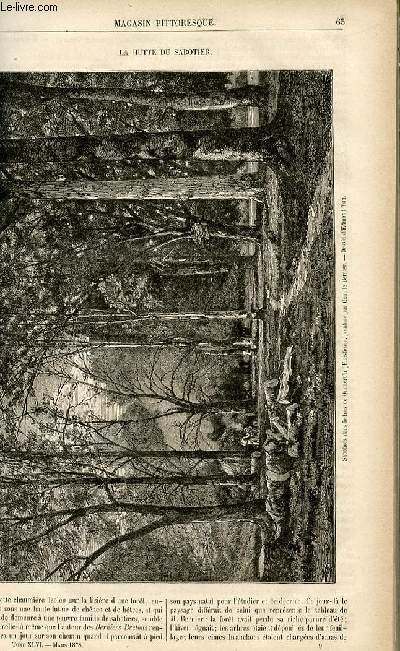 LE MAGASIN PITTORESQUE - Livraison n°09 - La hutte de sabotier.