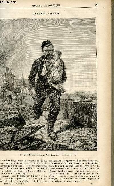 LE MAGASIN PITTORESQUE - Livraison n°12 - Le caporal Maubonne.