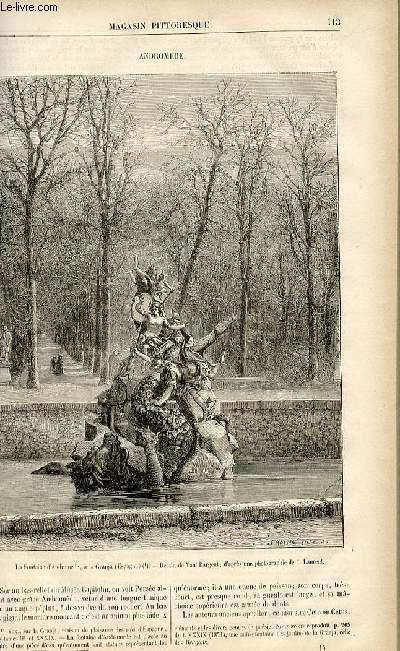 LE MAGASIN PITTORESQUE - Livraison n°15 - Andromède.