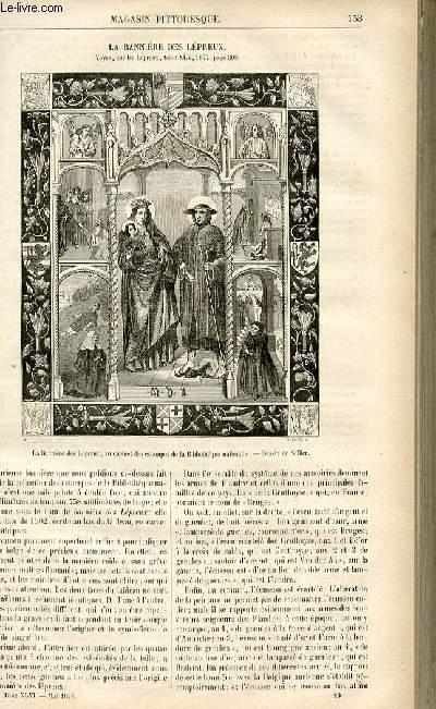 LE MAGASIN PITTORESQUE - Livraison n°20 - La bannière des Lépreux.
