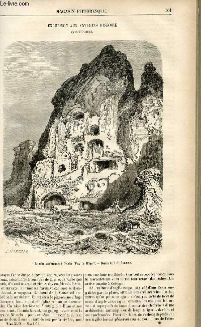 LE MAGASIN PITTORESQUE - Livraison n°21 - Excursion aux environs d'Issoire (Puy De Dôme).