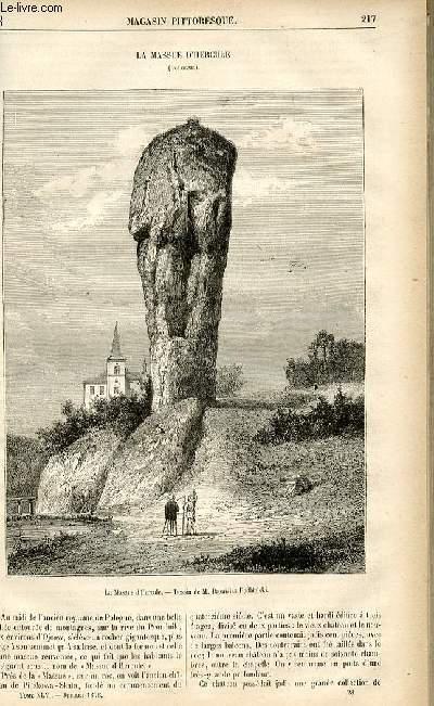 LE MAGASIN PITTORESQUE - Livraison n°28 - La massue d'Hercule (Pologne).