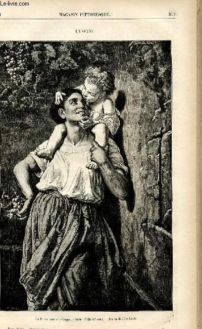LE MAGASIN PITTORESQUE - Livraison n°40 - L'enfant.