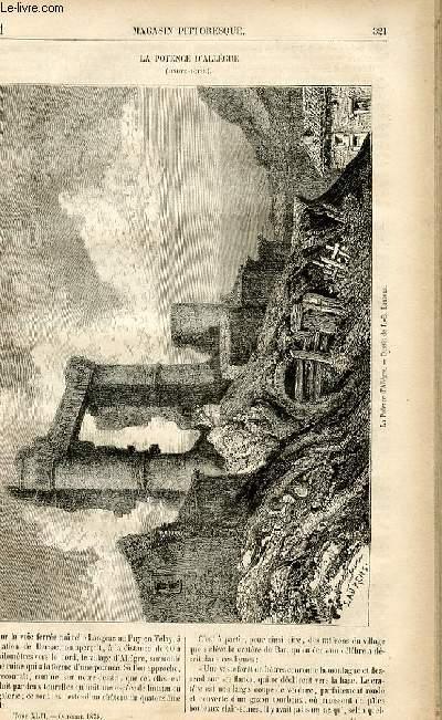 LE MAGASIN PITTORESQUE - Livraison n°41 - La potence d'Allègre (Haute Loire).
