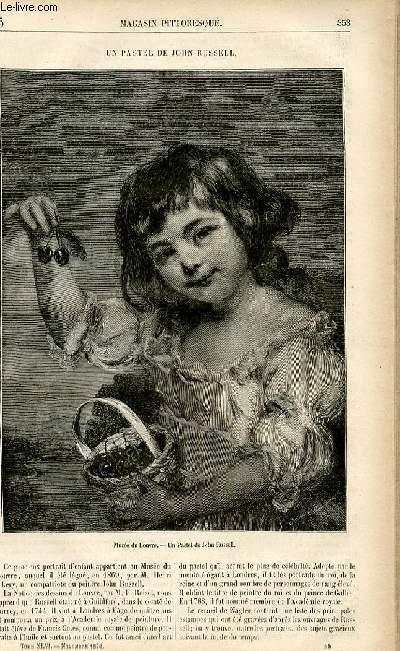 LE MAGASIN PITTORESQUE - Livraison n°45 - Un pastel de John Russel.