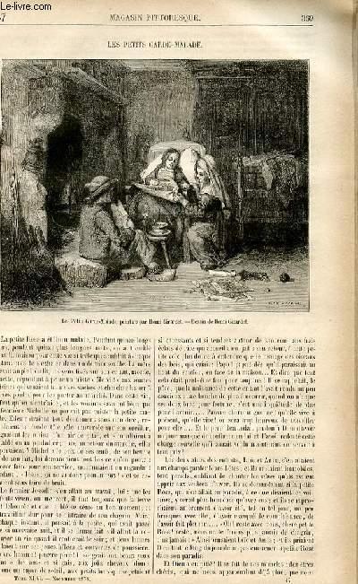 LE MAGASIN PITTORESQUE - Livraison n°47 - Les petits garde-malades.