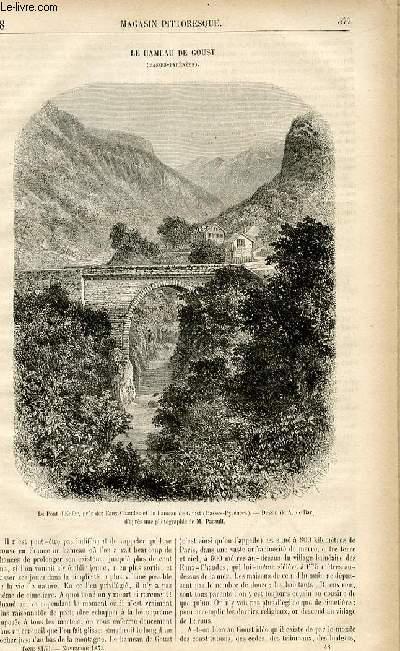 LE MAGASIN PITTORESQUE - Livraison n°48 - Le hameau de Goust (Basses Pyrénées).