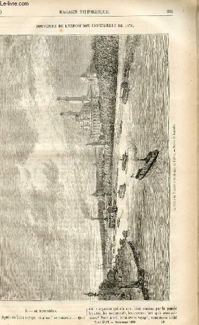 LE MAGASIN PITTORESQUE - Livraison n°49 - Souvenirs de l'exposition universelle de 1878, à suivre.