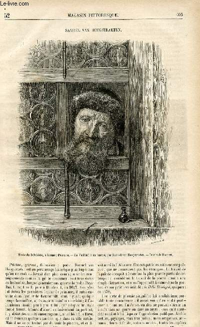 LE MAGASIN PITTORESQUE - Livraison n°52 - Samuel Van Hoogstraeten.