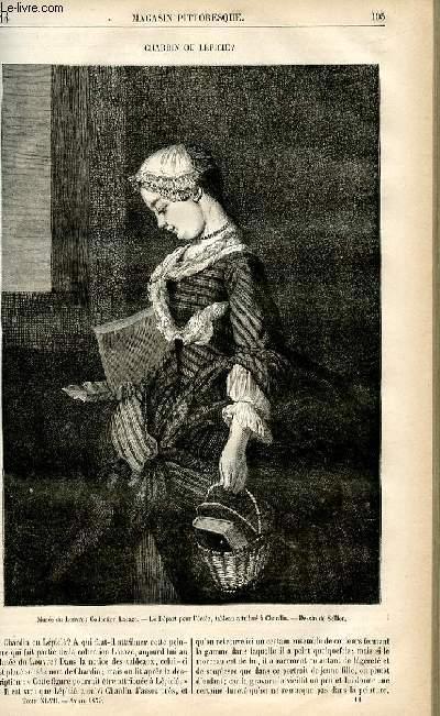 LE MAGASIN PITTORESQUE - Livraison n°14 - Chardin ou lépicié.