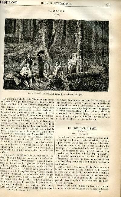 LE MAGASIN PITTORESQUE - Livraison n°16 - Sainte Odile (Alsace).