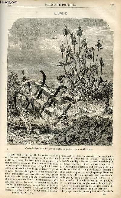 LE MAGASIN PITTORESQUE - Livraison n°22 - La guerre.